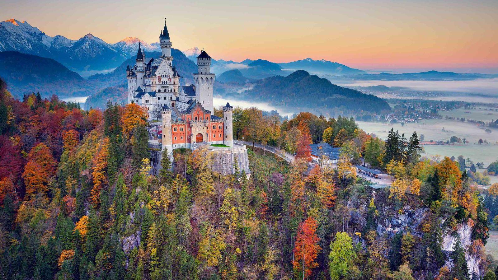 Castelo de Neuschwanstein, Baviera, Alemanha