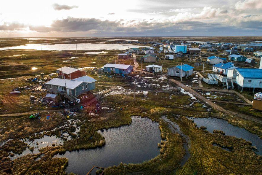 Efeitos das Alterações Climáticas Numa Aldeia do Alasca