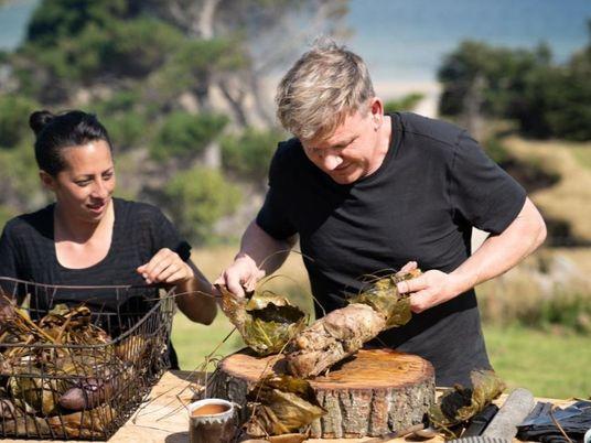 Imagens da Aventura de Gordon Ramsay na Nova Zelândia