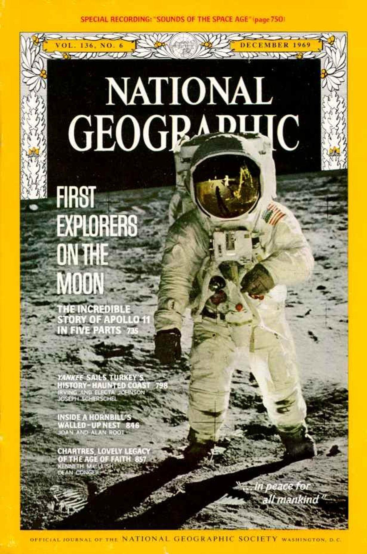 DEZEMBRO DE 1969— ALUNAGEM DA APOLLO 11