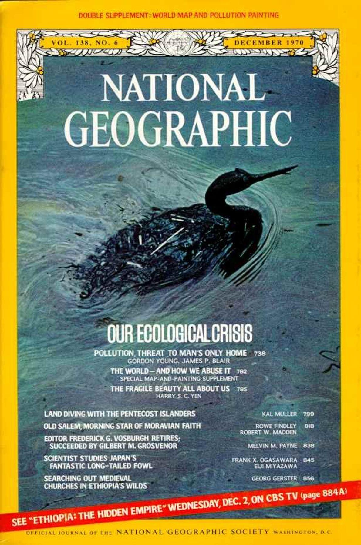 DEZEMBRO DE 1970 — A NOSSA CRISE ECOLÓGICA