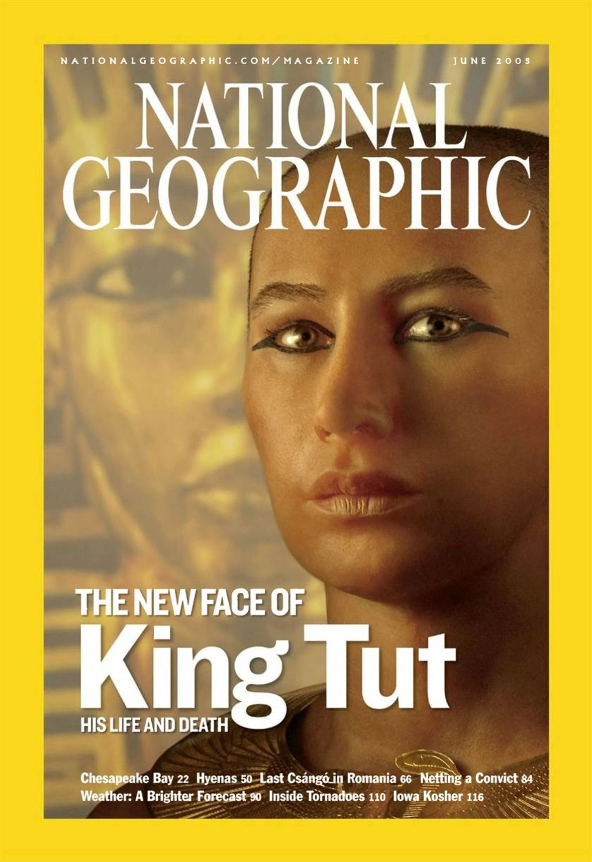 CAPA NG JUNHO DE 2005 - Tutancâmon