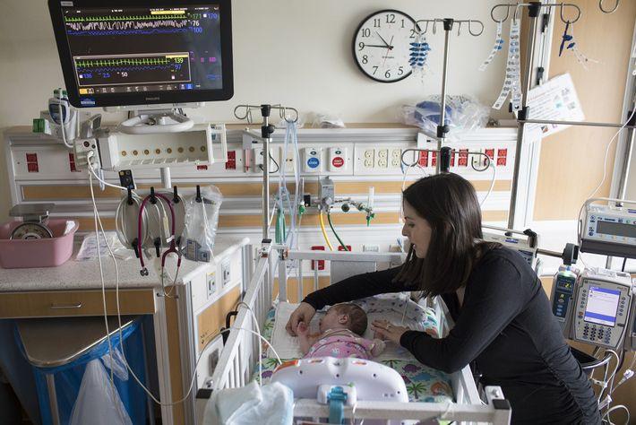 bebé prematuro na UCIN