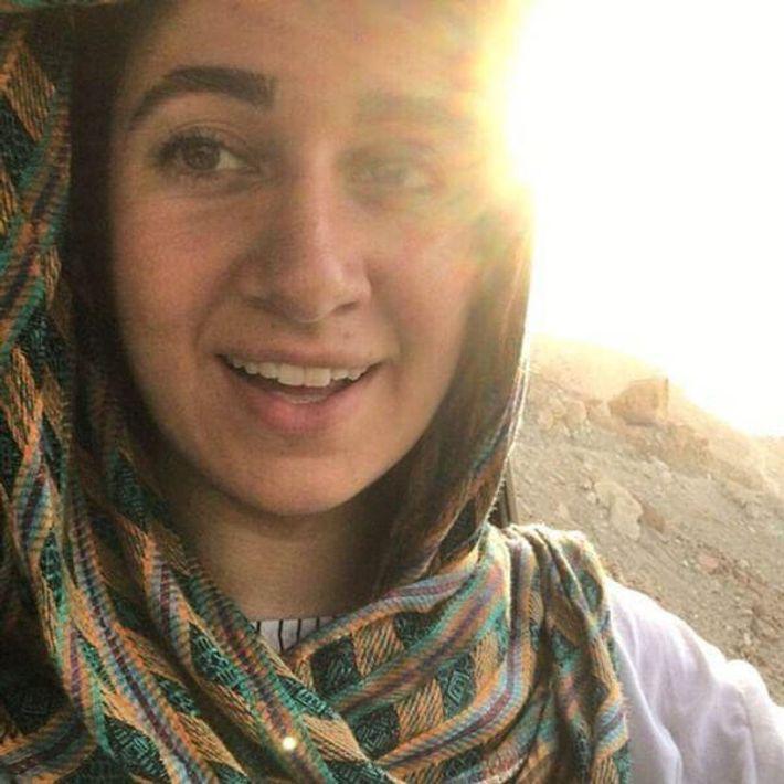 """A ambientalista detida, Niloufar Bayani, """"preocupava-se seriamente com o seu país e queria fazer a diferença ..."""