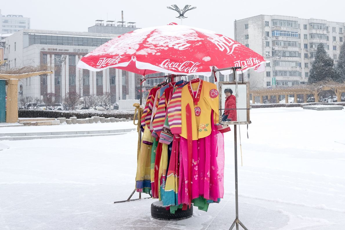 Vestes tradicionais coreanas