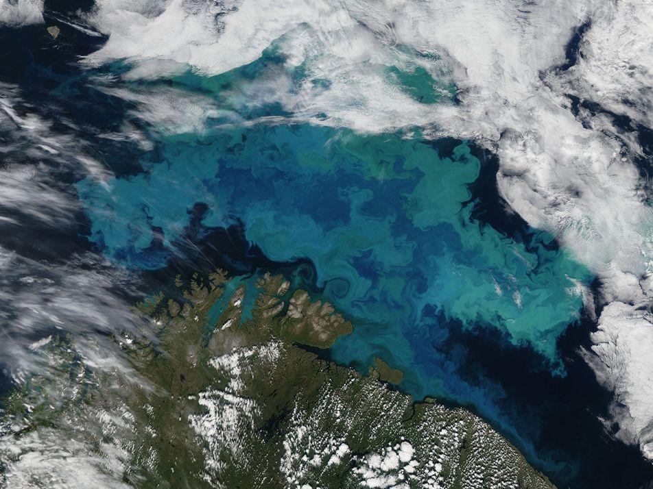 As Alterações Climáticas Vão Mudar as Cores dos Oceanos