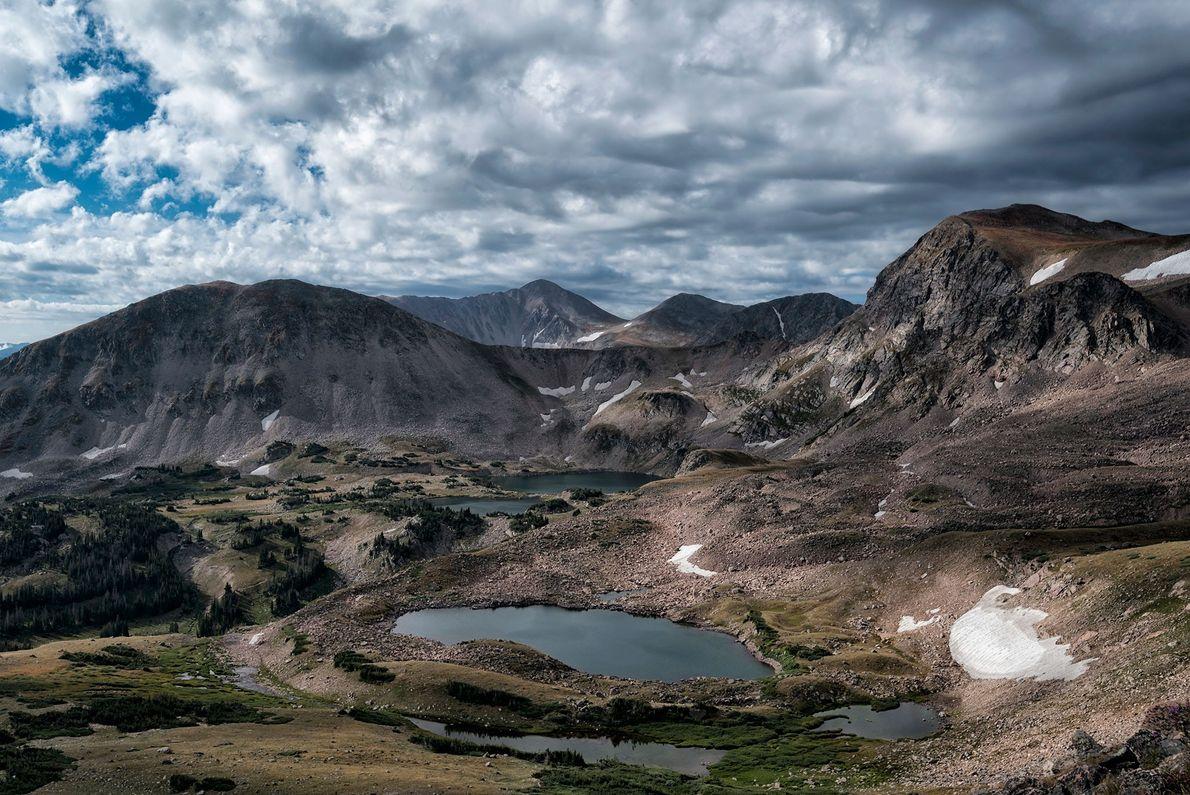 O Parque Natural de Rawah, no Colorado.