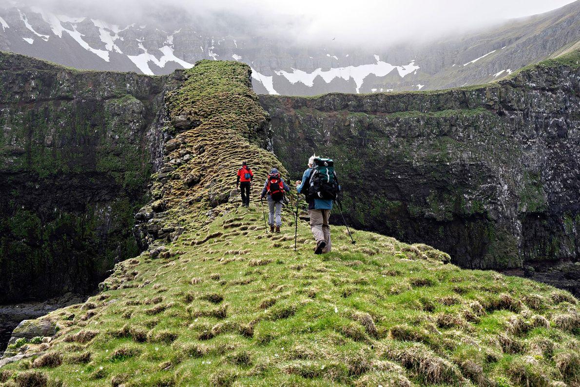 Reserva Natural de Hornstrandir, na Islândia.