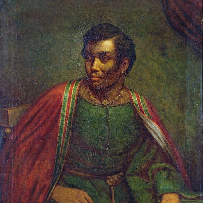 A peça de Shakespeare, Otelo, tem um general mouro no exército veneziano. O ator afro-americano do ...