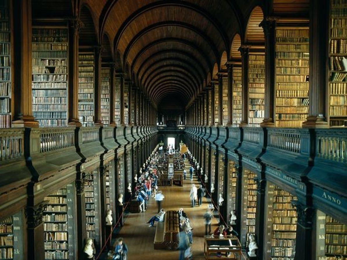 Antiga Livraria na Faculdade de Trinity, Dublin