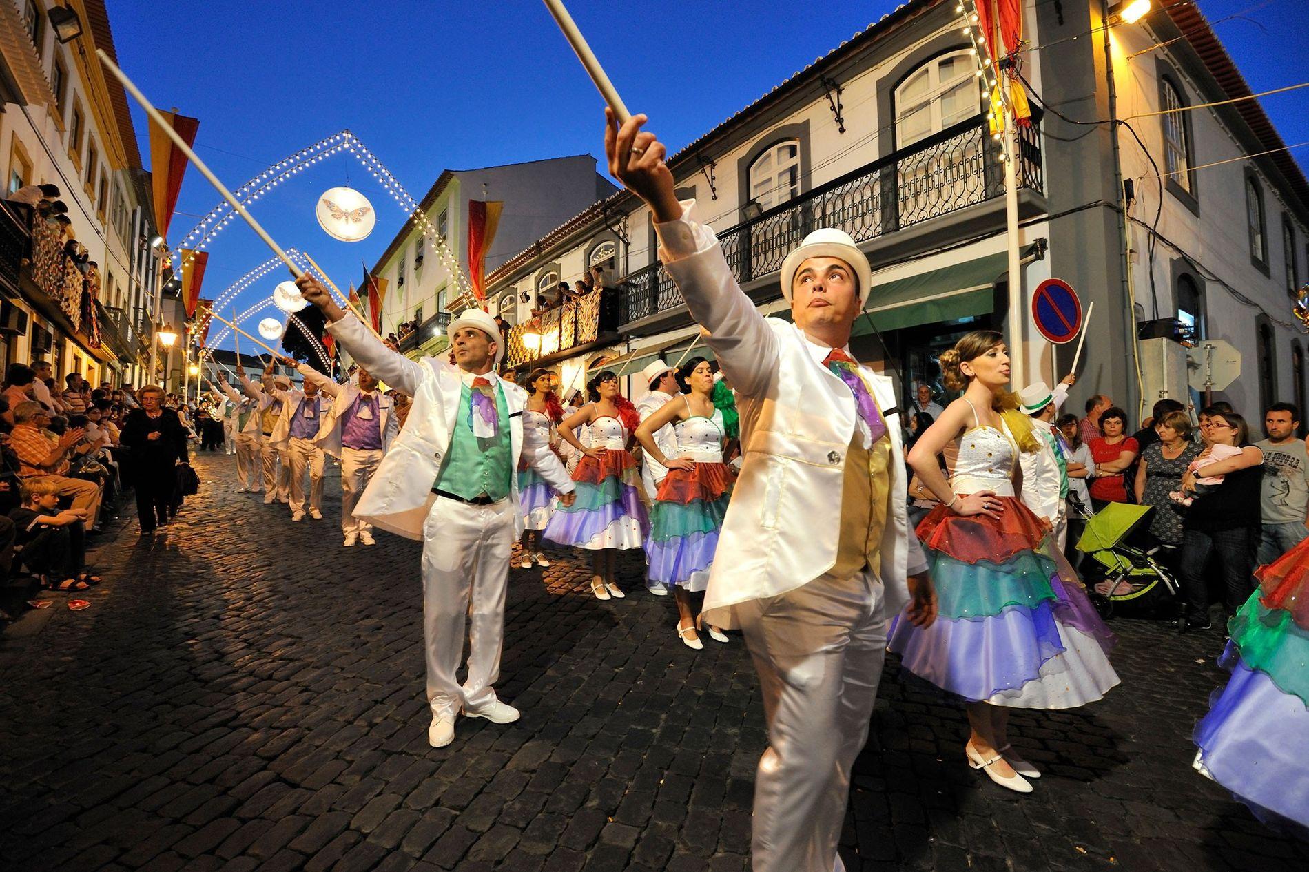 Festival, Terceira, Azores, Portugal