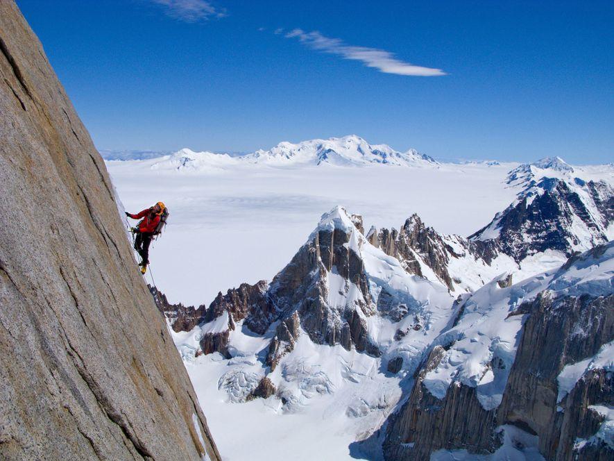 Esta é a Razão por que a Patagónia é o Paraíso dos Escaladores