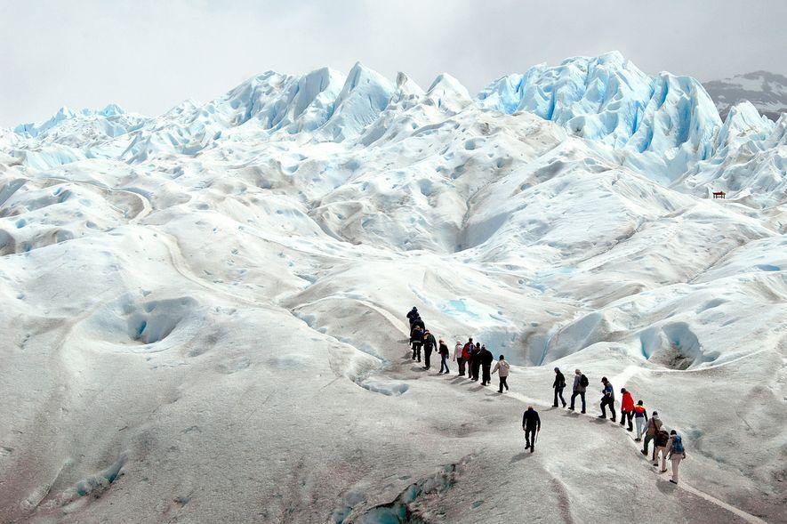 Glaciar Perito Moreno na Patagónia