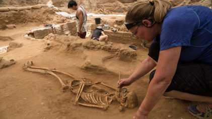 ADN Antigo Pode Revelar a Origem dos Filisteus