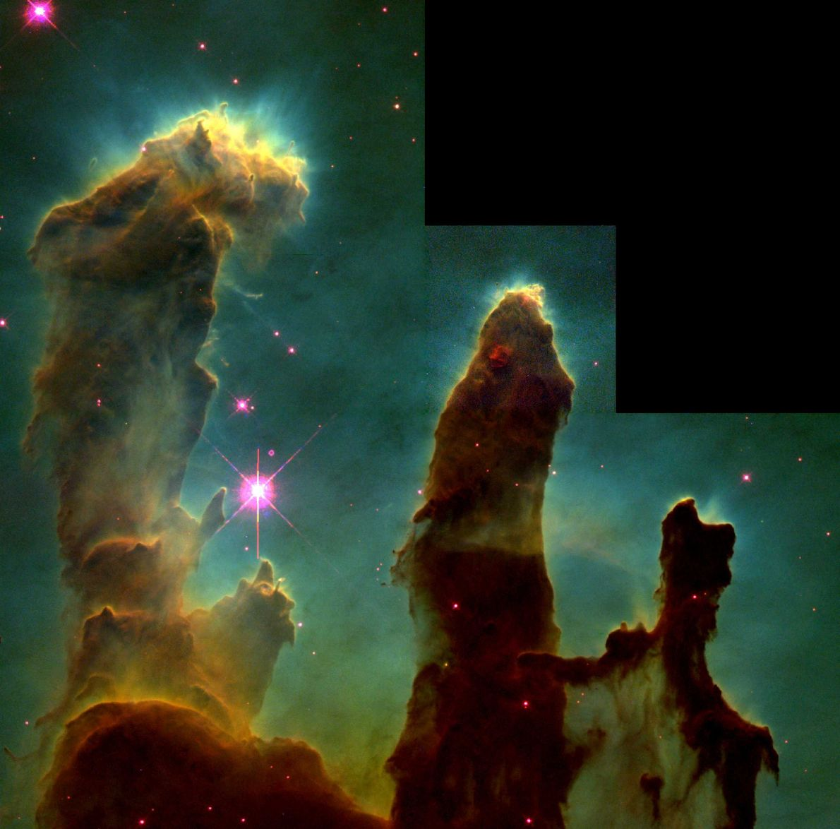 """The Pillars of Creation"" - Hubble, 1995"