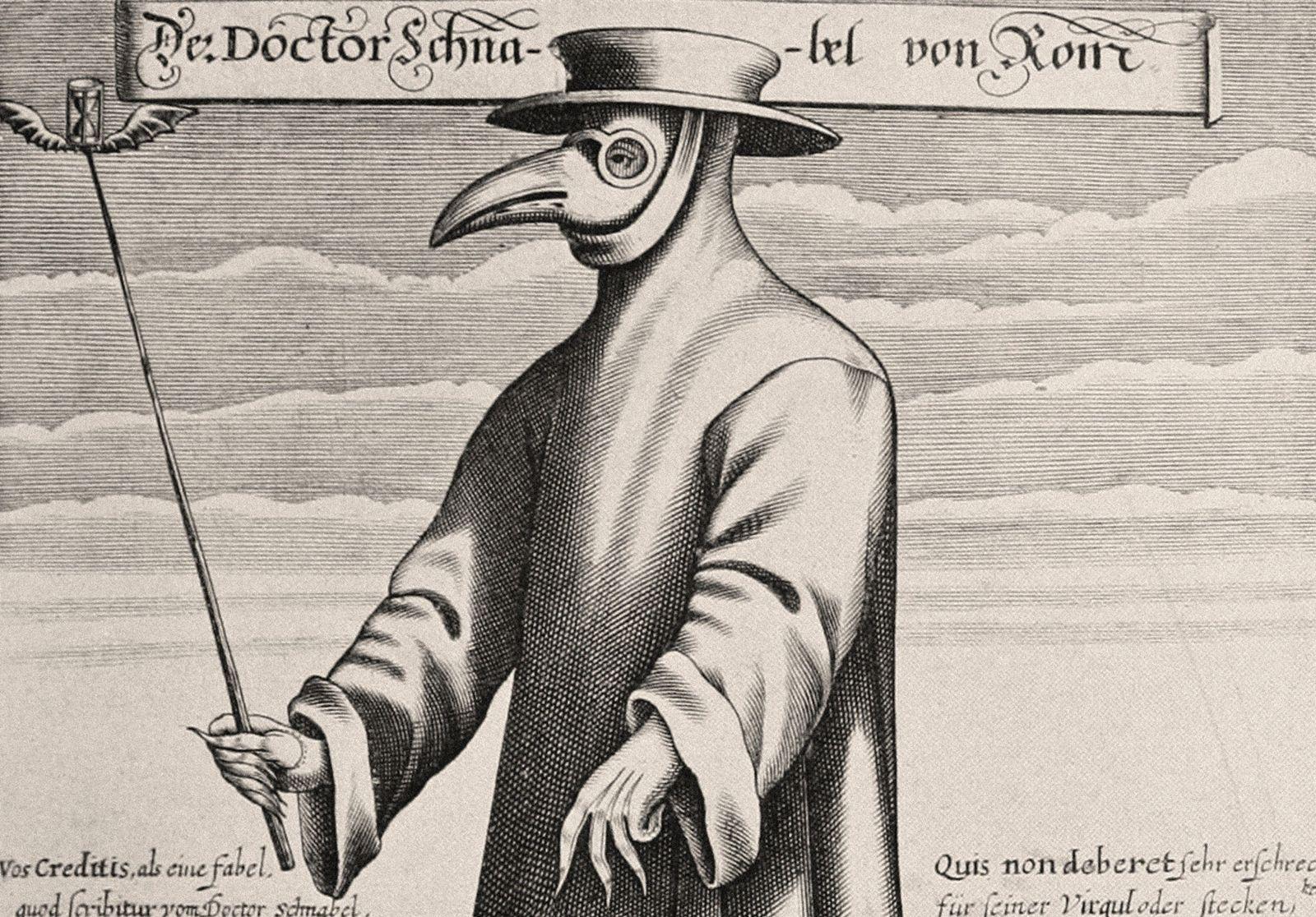 Os Médicos da Peste Usavam Máscaras com Bicos Estranhos – Porquê?