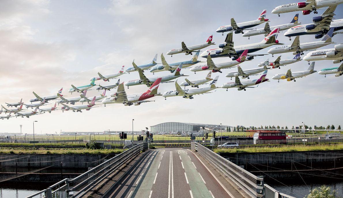 Aeroporto de Heathrow, em Londres.