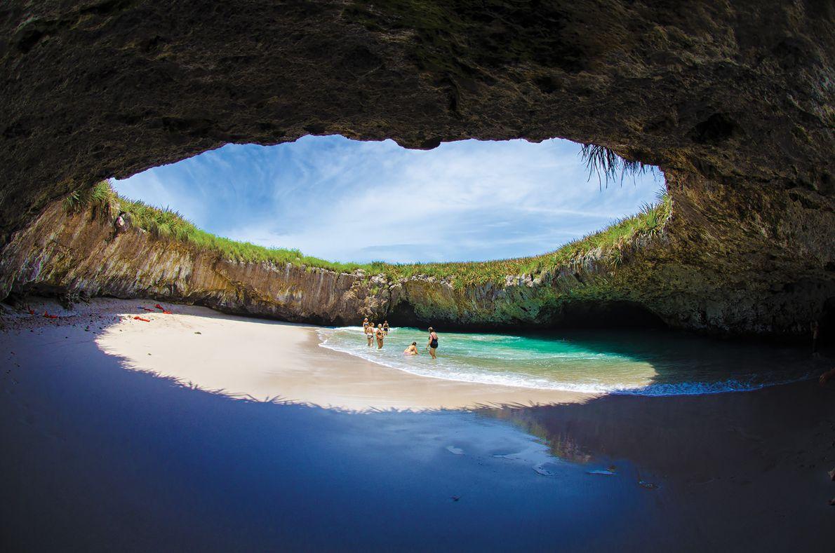 Praia do Amor, Ilhas Marietas, México.