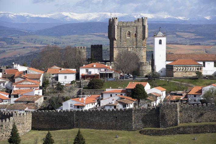 Castelo de Bragança, o ex-líbris da cidade.