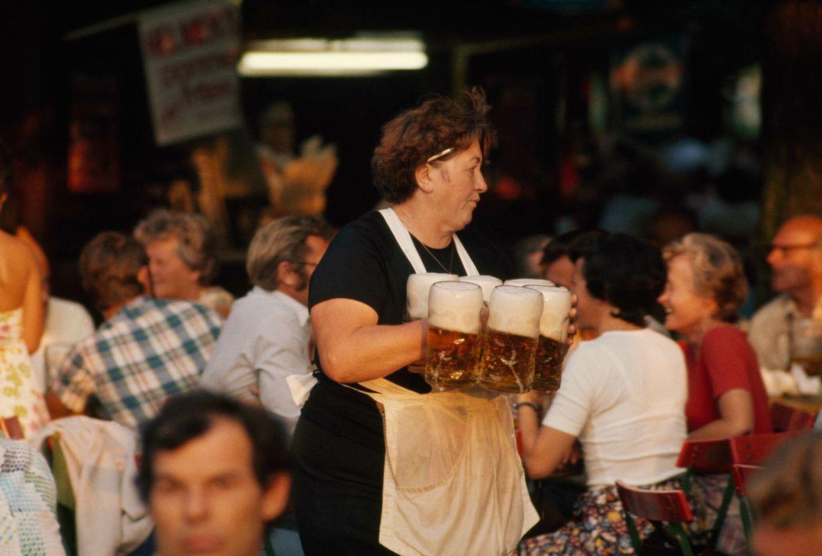 Festejar o Oktoberfest