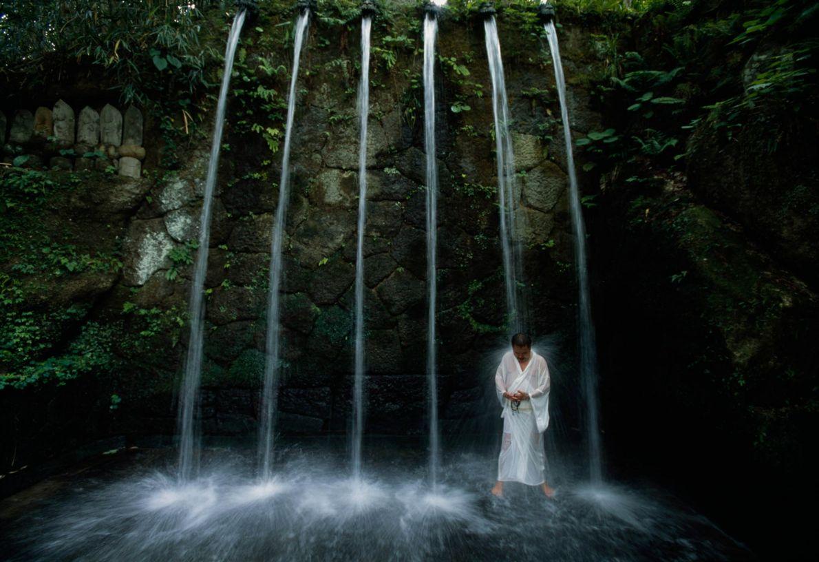 Meditação nas cascatas