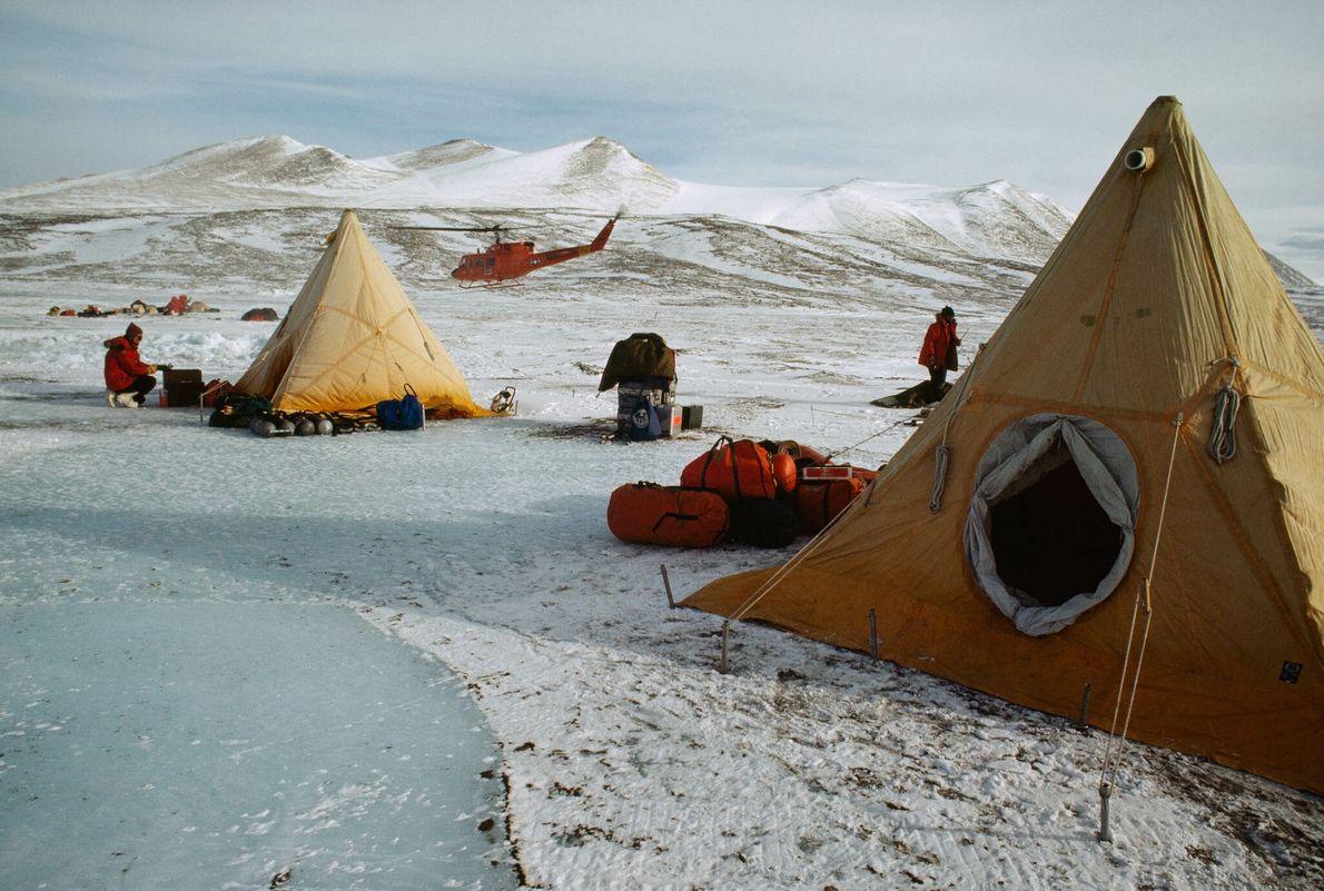 Tendas no Gelo