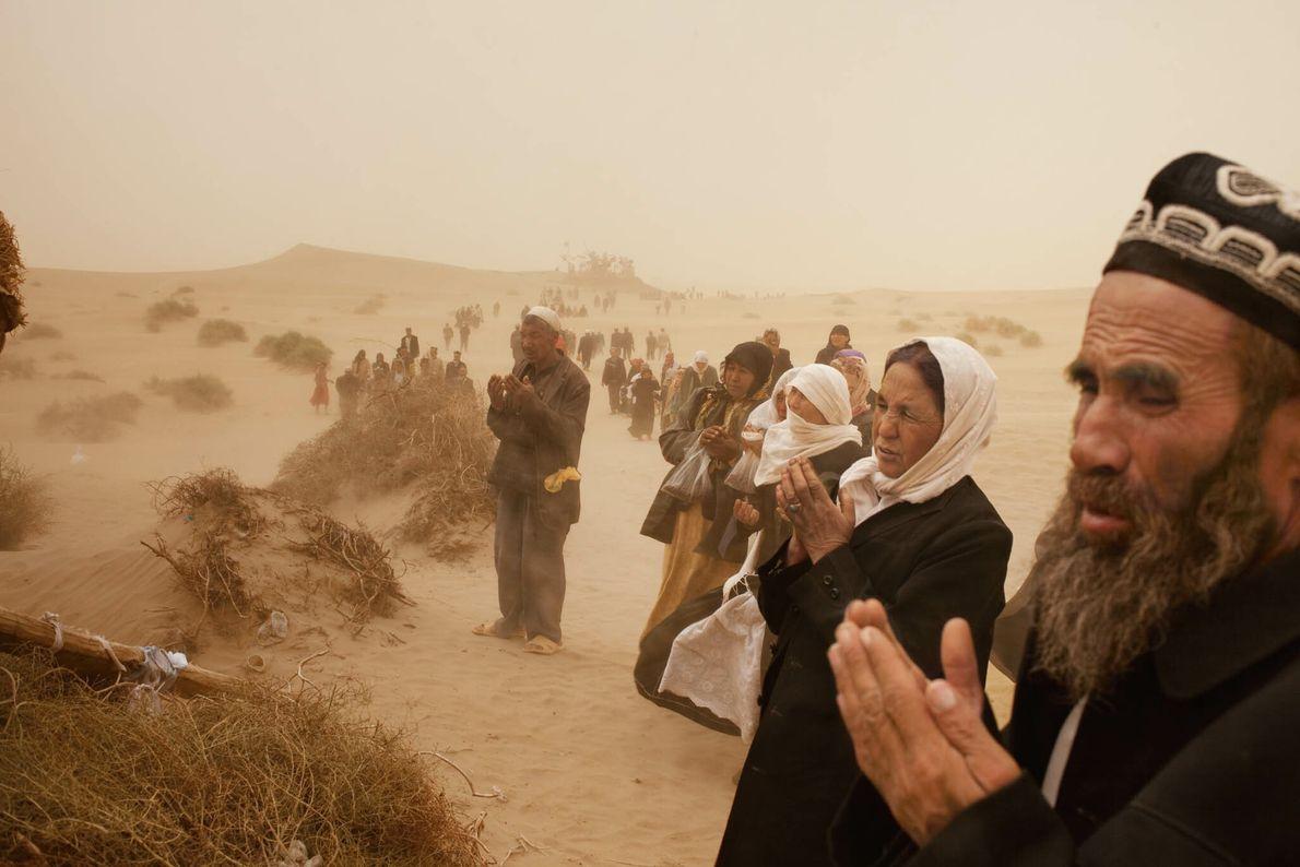 Orações de Tempestade de Areia