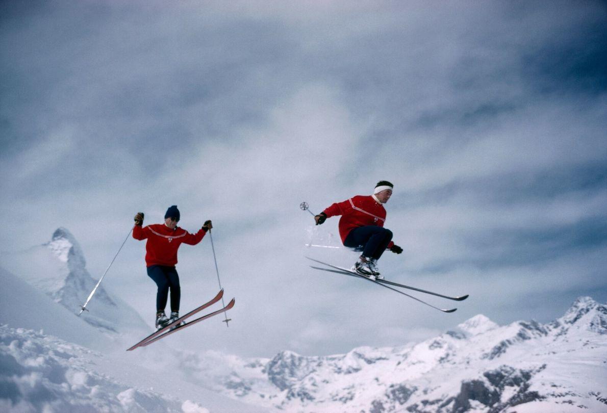 Esquiar na Suíça
