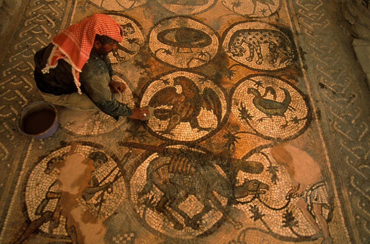 Mosaico de Petra
