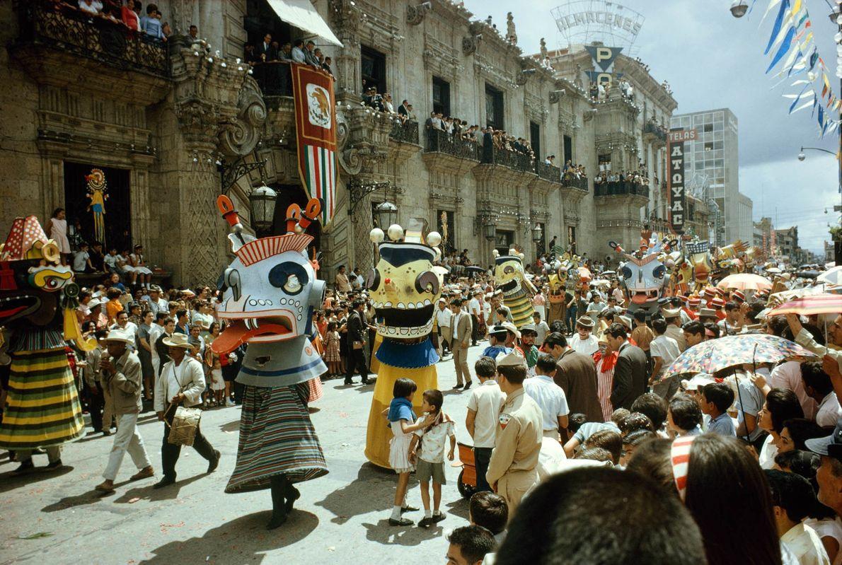 Máscaras de Desfile
