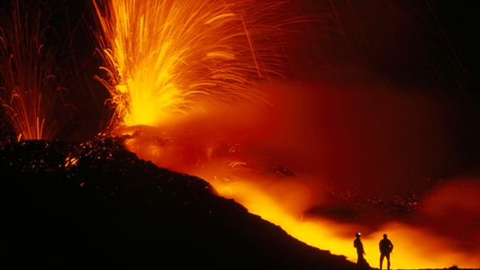 Vulcão vibrante