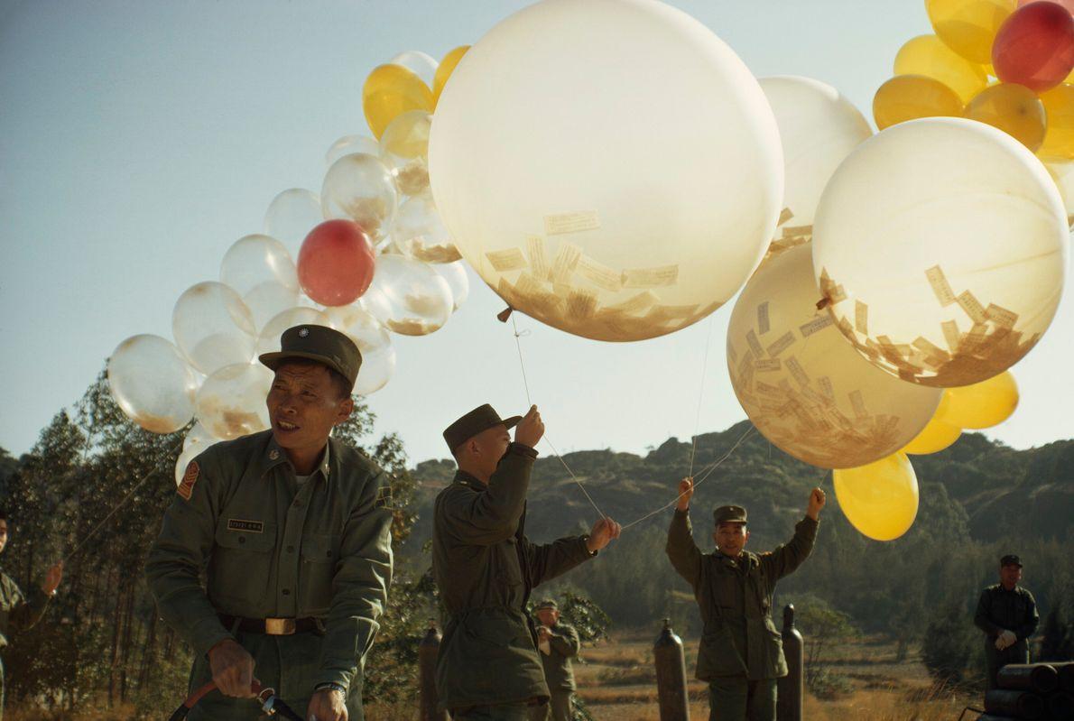 Balões com Mensagens