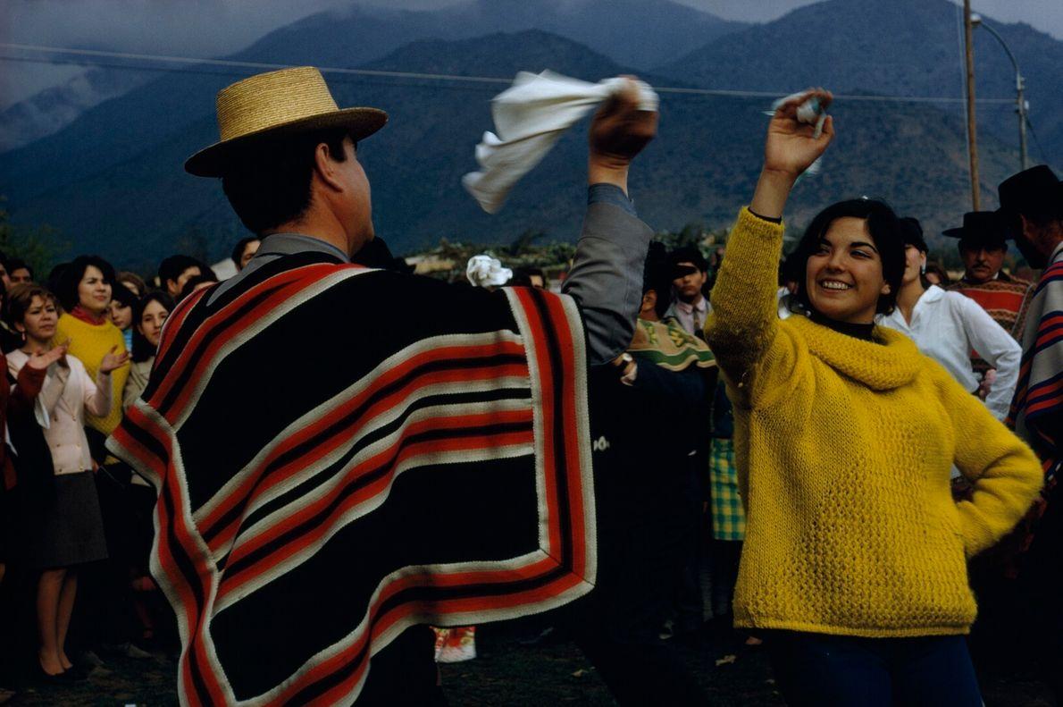Dançando em Santiago