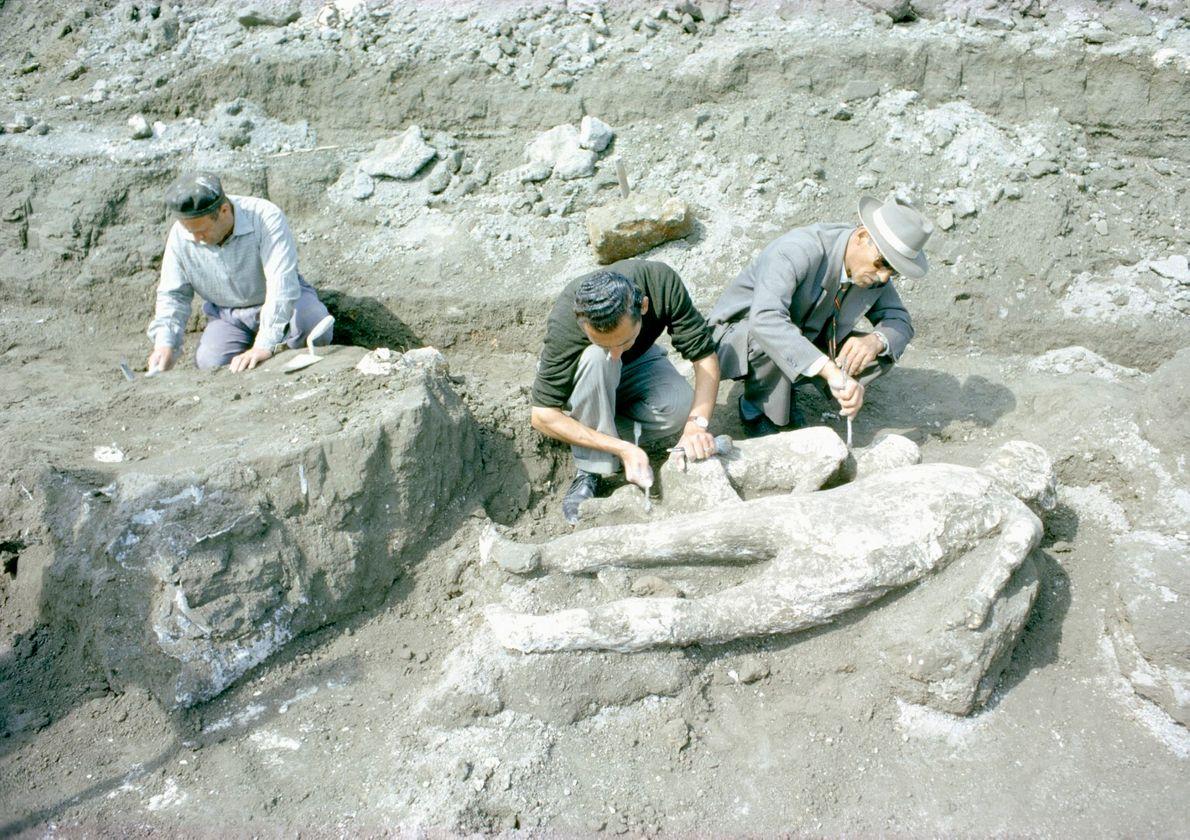 Escavar Pompeia