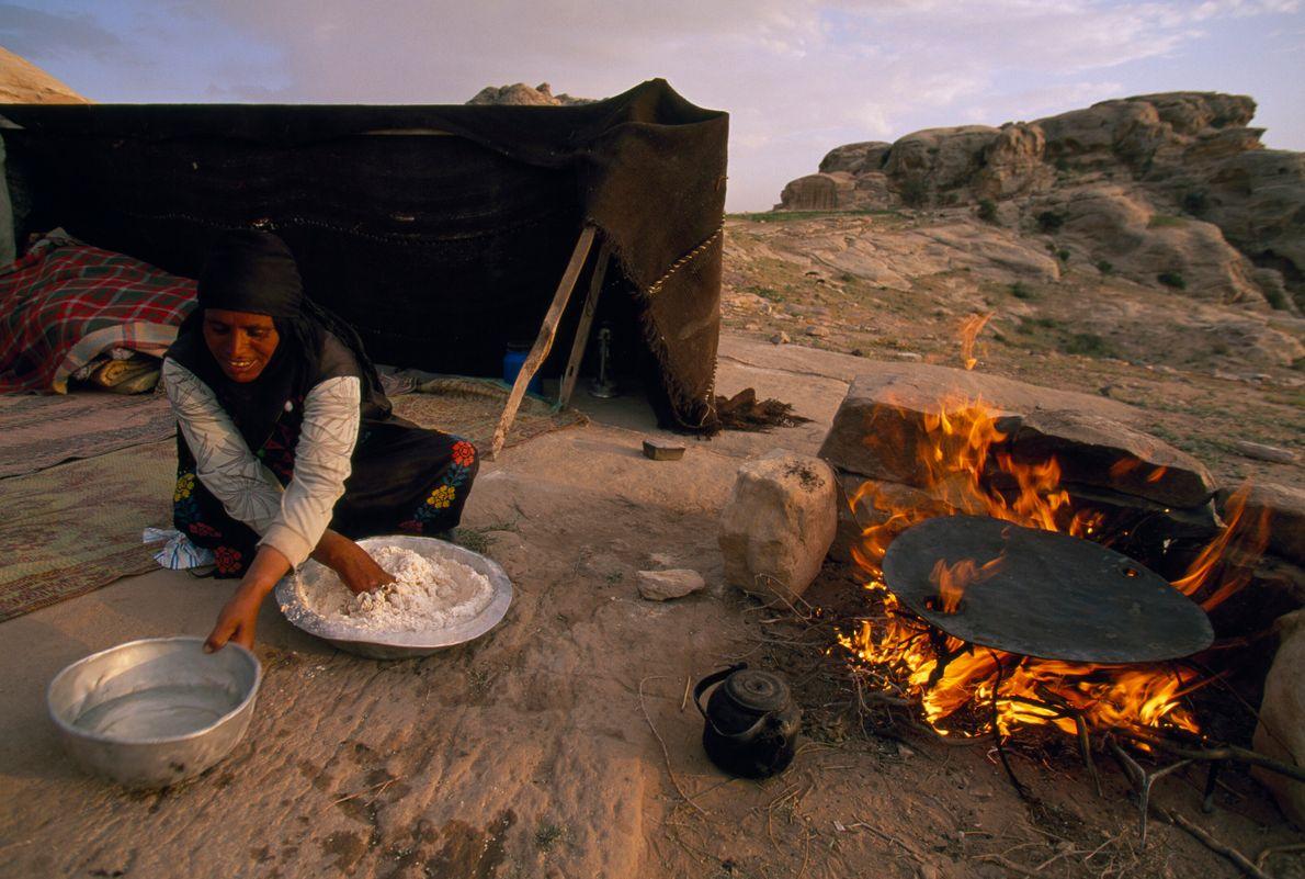 Pão beduíno