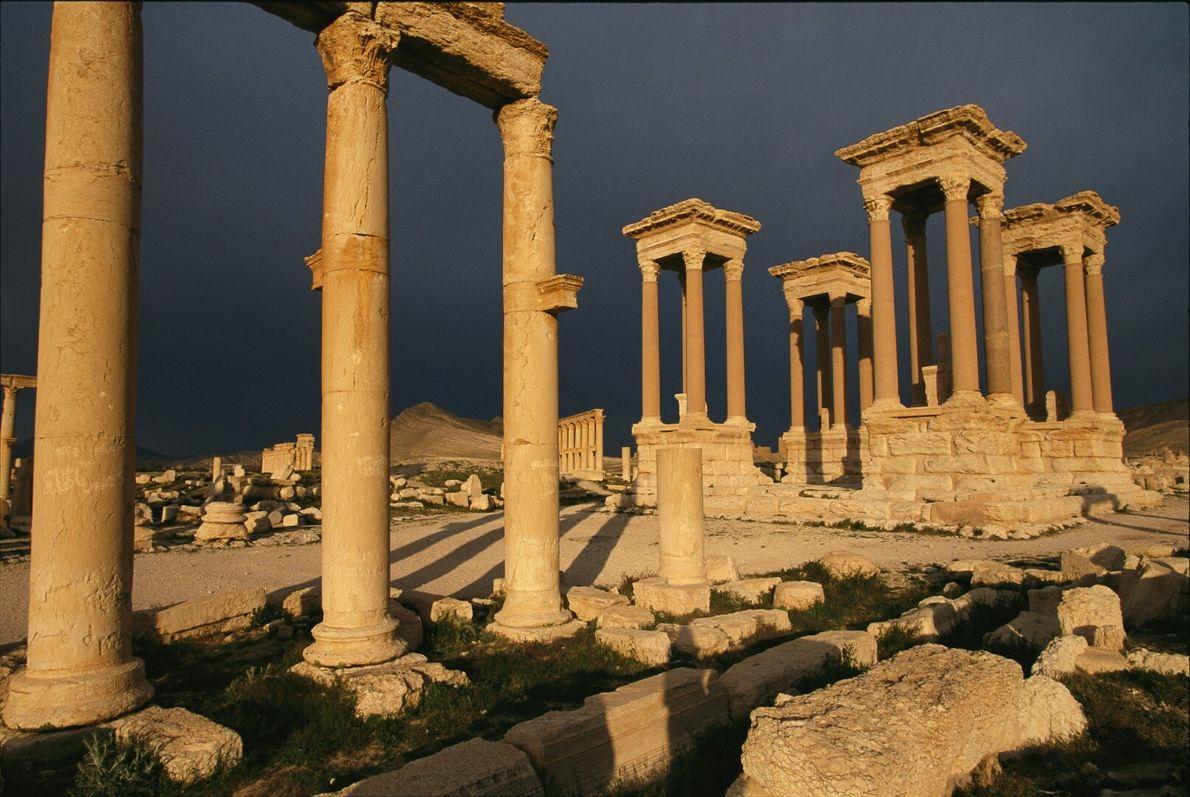 Vestígios de Palmira
