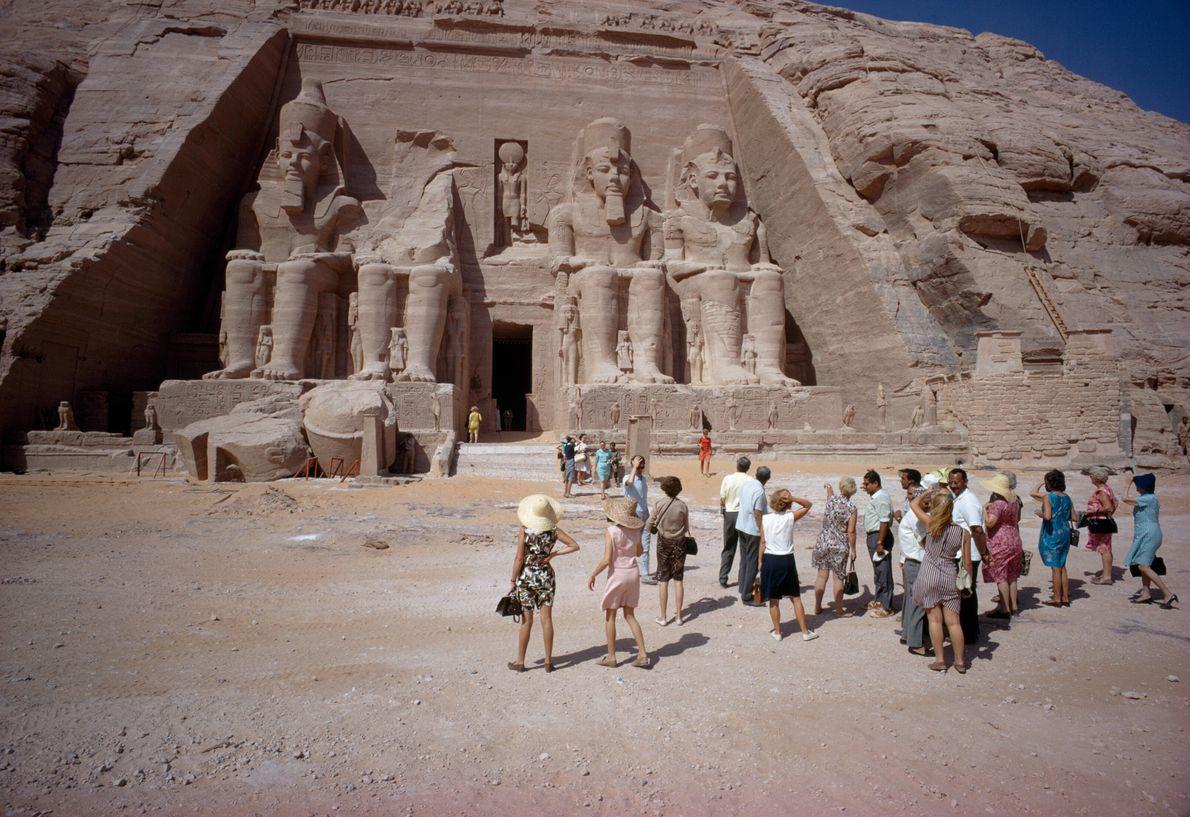 Turistas do Templo