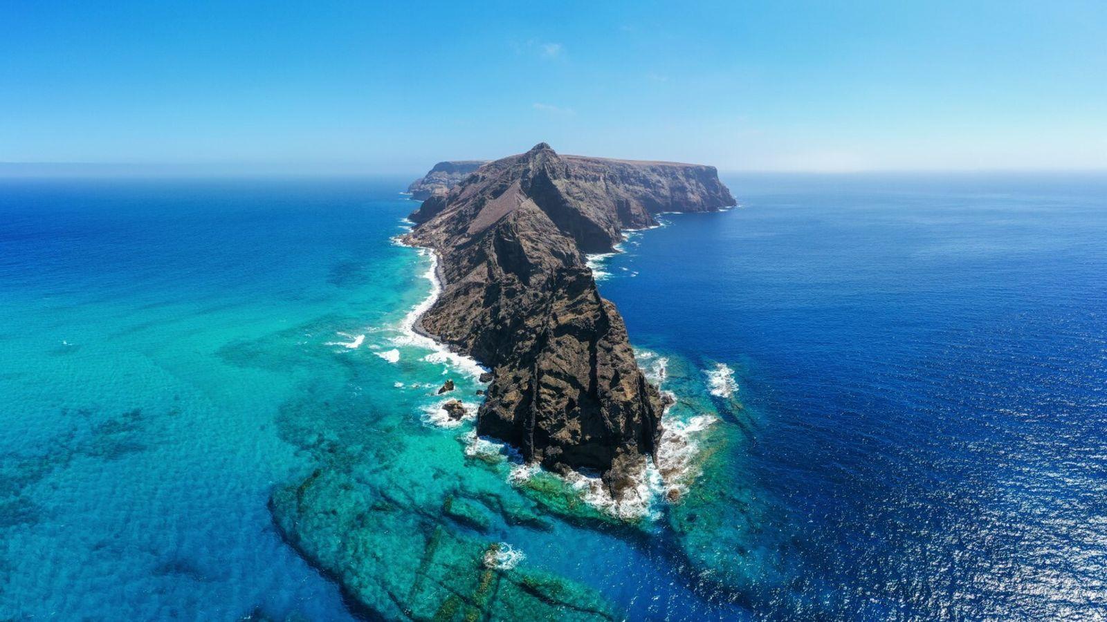 Ilhéu da Cal na ilha de Porto Santo