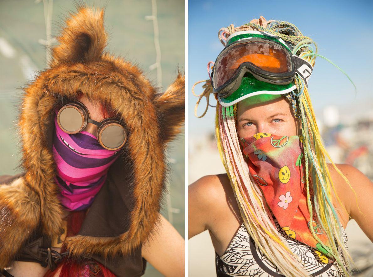 Fire Goddess (à esquerda) de Moscovo e Sharrari (à direita) de Santa Monica
