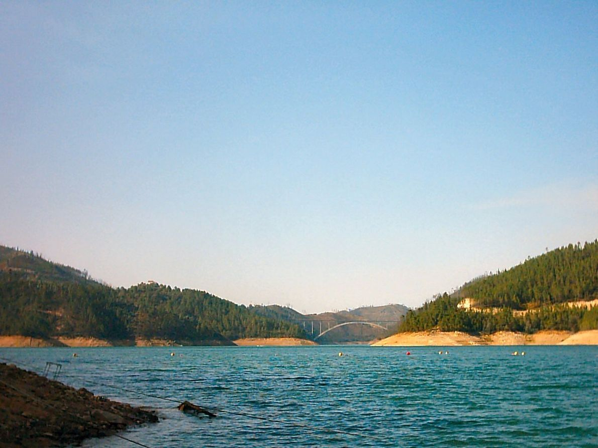 Praia Fluvial do Lago Azul, Ferreira do Zêzere
