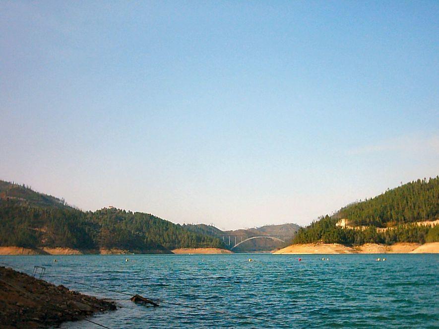 Praia Fluvial do Lago Azul, Ferreira do Zêzere.