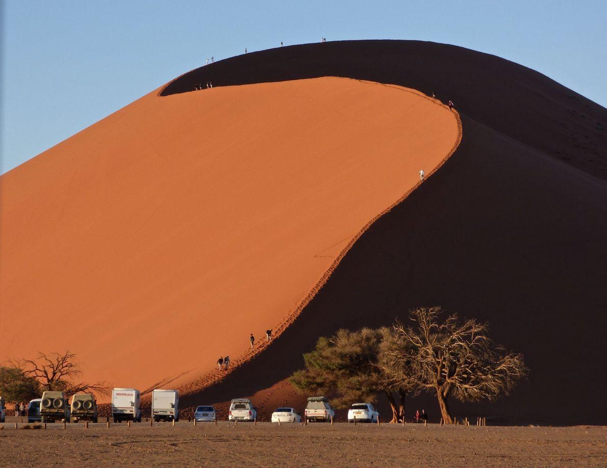 ÁREA DE SOSSUSVLEI, NAMÍBIA