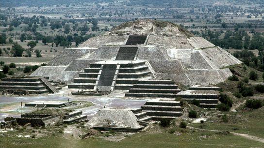 Pirâmide da Lua, México