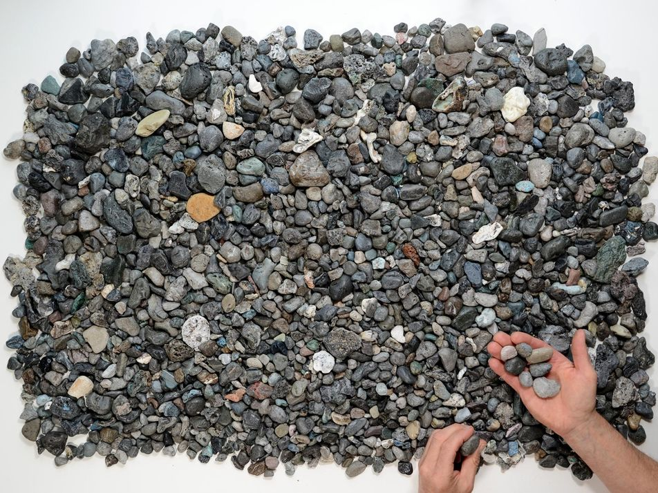 Nova Poluição: Plásticos que Parecem Pedras