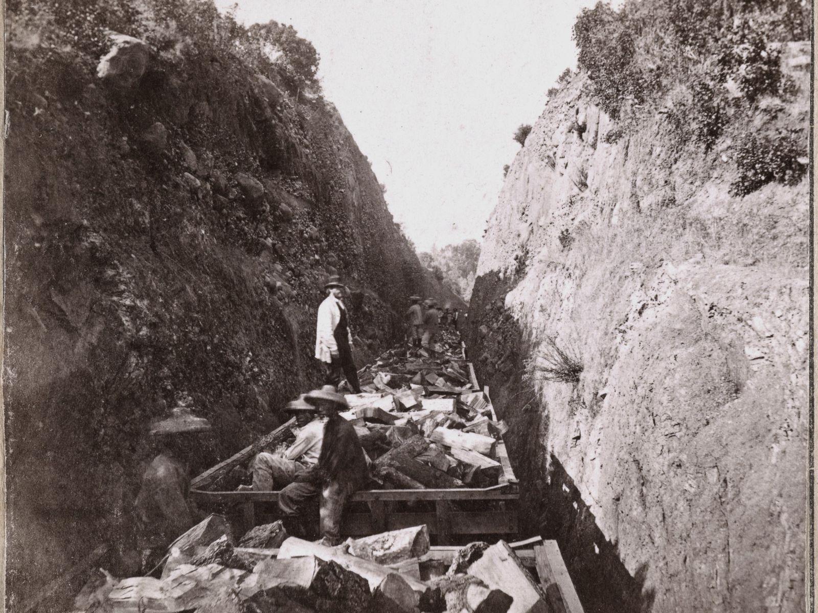 GREVE DOS CAMINHOS-DE-FERRO, 1867