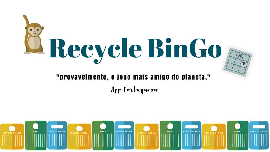 Imagem da Aplicação Recyclebingo