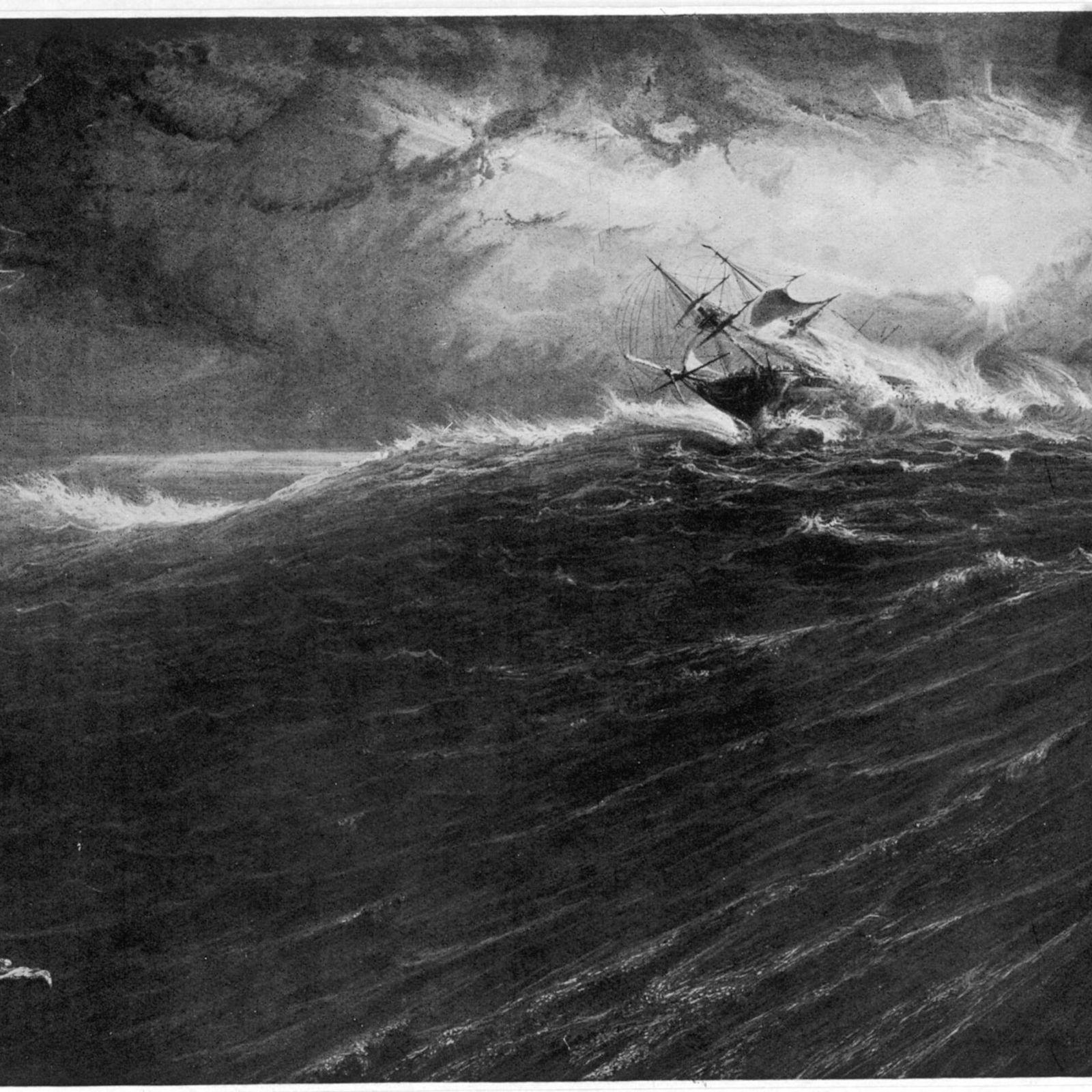 Tempestade no Cabo da Boa Esperança