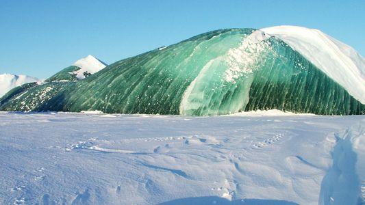 Sabia que os Icebergues Podem Ser Verde-Esmeralda?