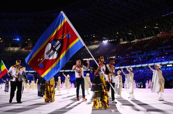 Jogos Olímpicos de Tóquio 2020 - Cerimónia de abertura dos Jogos Olímpicos de Tóquio 2020