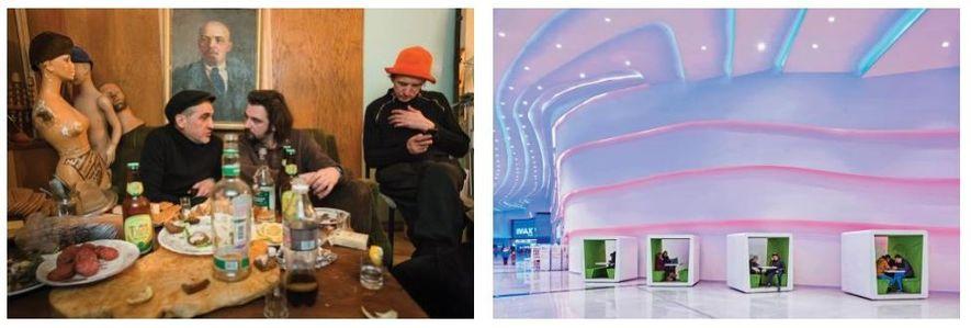 Esquerda: O que faria Lenine? Uma reunião privada num estúdio de arte em Moscovo reflete a ...